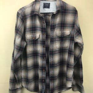 Abercrombie & Fitch Thick Cotton Shirt